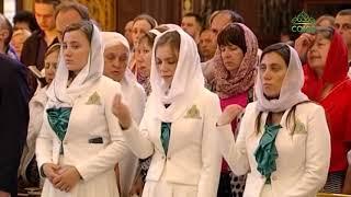 В праздник Вознесения Предстоятель совершил Литургию в Храме Христа Спасителя