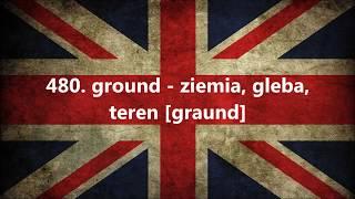 1000 najczęściej używanych słów w języku angielskim część 47