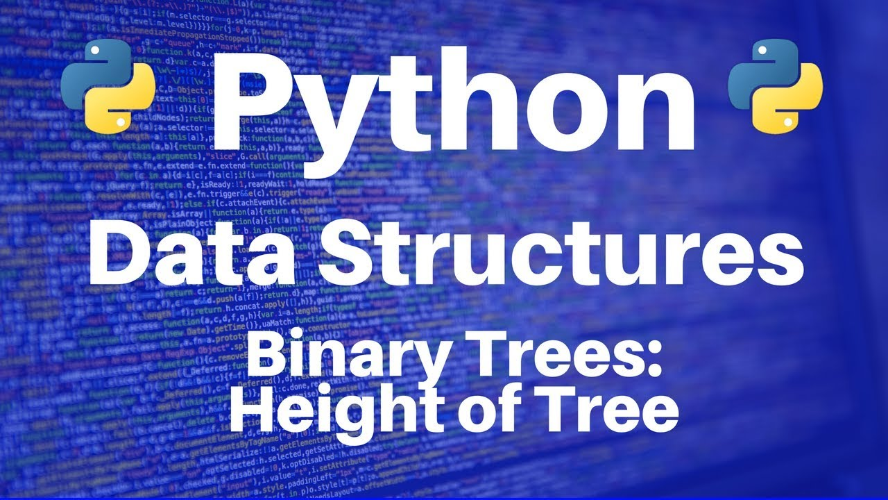 Binary Trees in Python: Calculating Height of Tree