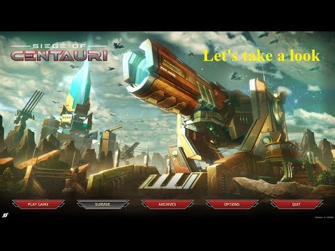 Let's take a look Siege of Centauri |