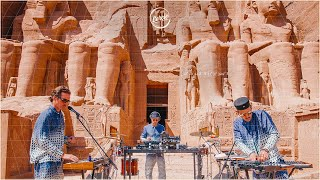 WhoMadeWho live at Abu Simbel, Egypt for Cercle