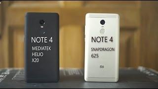 Xiaomi Redmi Note 4 Mediatek vs Xiaomi Redmi Note 4 Snapdragon   The Game Is Changed....