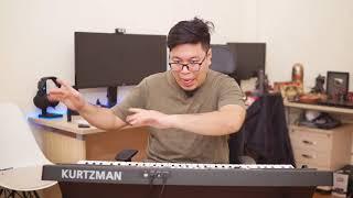 [Piano] Guitar hay Piano khó hơn? Tập Piano bao lâu thì giỏi? Kzm K200 sau 7 tháng sử dụng