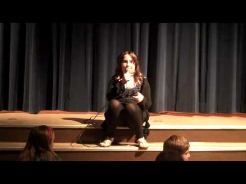 Tessa McClintock singing