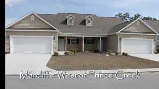 New Home Sales at Marcliffe West in Blackmoor Golf Community -- Murrells Inlet, SC