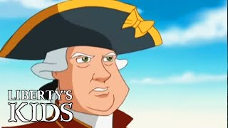 Liberty's Kids 106 - The Shot Heard 'Round the World | History Cartoons for Children