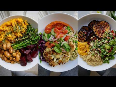 Plant-Based Seasonal BUDDHA BOWLS // Easy & Delicious