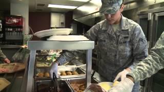 Inside an Air Force Flight Kitchen