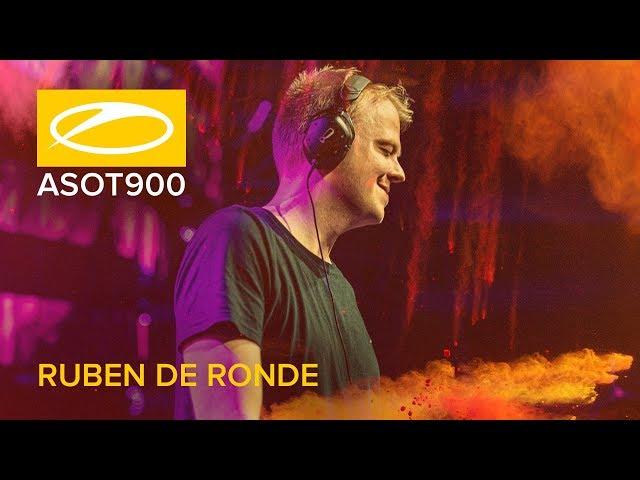 Ruben de Ronde live at A State Of Trance 900 (Mexico City - Mexico)