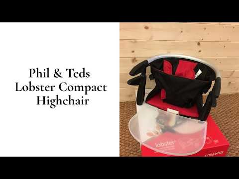 Phil  Teds Lobster Compact Highchair Review   BuggyPramReviews