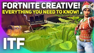 Everything You Need To Know About Fortnite Creative! (Fortnite Battle Royale)