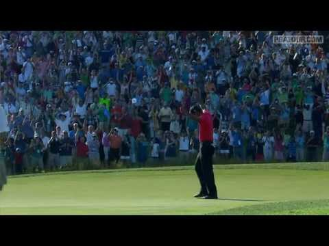 Tiger Woods wins the 2012 AT&T National