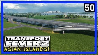 Download Lagu NEW HIGHWAY INTERSECTIONS! (Build/Ride) - TRANSPORT FEVER 2 Gameplay - Asian Islands Ep 50 mp3