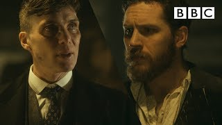 Tommy's first encounter with Alfie Solomons | Peaky Blinders  - BBC