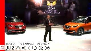 2018 Nissan Kicks Unveiling