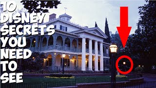 Repeat youtube video 10 Rare Disneyland Secrets You Need To See