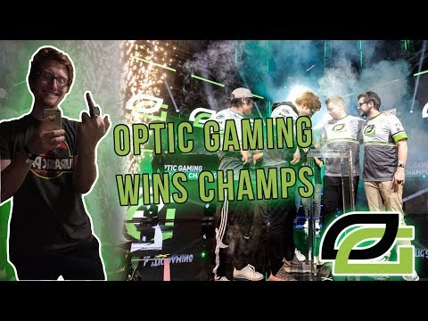 OPTIC GAMING WINS COD CHAMPS