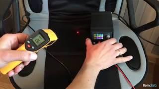 Тест-обзор автомобильной накидки с подогревом Vitol H19002