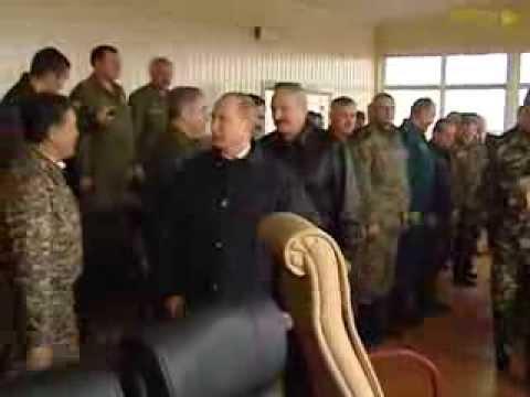 Belarus-Russia army exercise Zapad 2013