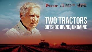 Two Tractors Outside Rivne, Ukraine