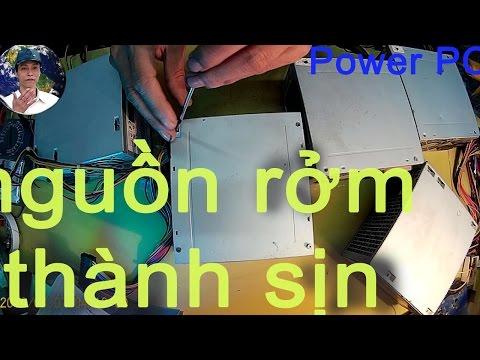 Biến Nguồn Máy Tính Thường Thành Nguồn Máy Tính Xịn, Power PC Run Better