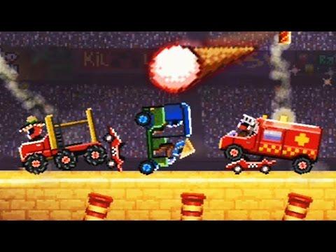 БЕЗУМНЫЕ ГОНКИ в игре Drive Ahead Мультик игра про машинки БИТВА ТАЧЕК