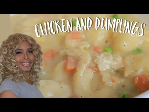 CHICKEN AND DUMPLINGS | Easy Recipe (NEW)