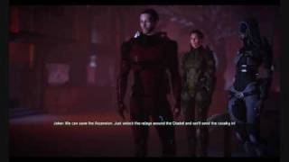Mass Effect renegade dialog ending part 1/2