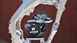 Starting my dirt bike build - parts update. RMZ 450 build part 9