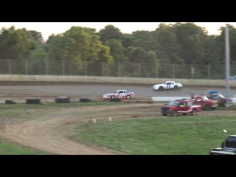 Florence Speedway | 6/24/17 | Phoenix Comfort Systems Pure Stocks | Heat 2