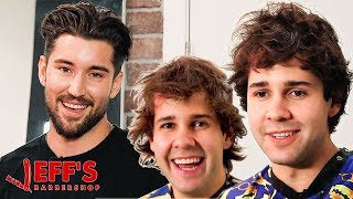 GIVING DAVID DOBRIK A NEW HAIRCUT  Jeffs Barbershop