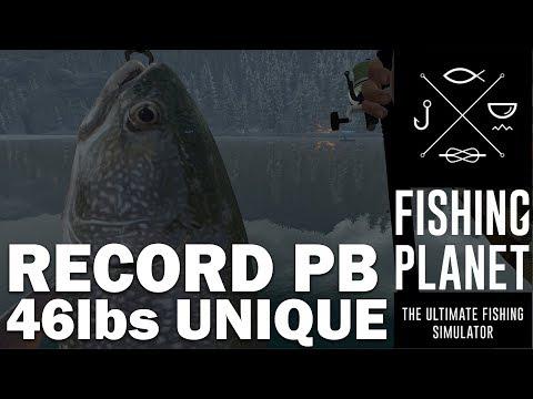 Fishing Planet Highlight - Record 46lbs Unique Lake Trout - White Moose Lake