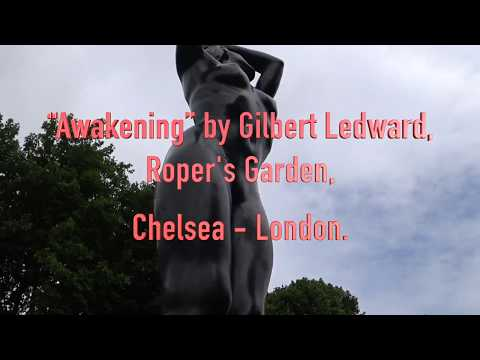 """Awakening"" by Gilbert Ledward, Roper's Garden, Chelsea London SW3"