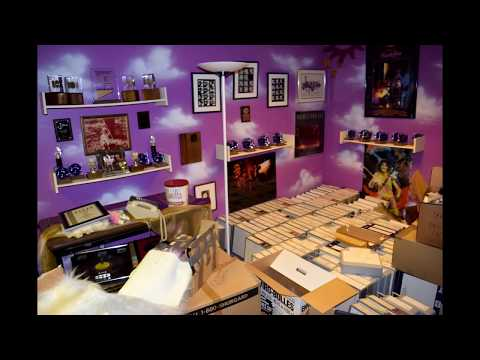 Prince's Paisley Park ~ The Vault and The Studio Store aka The Hidden Room