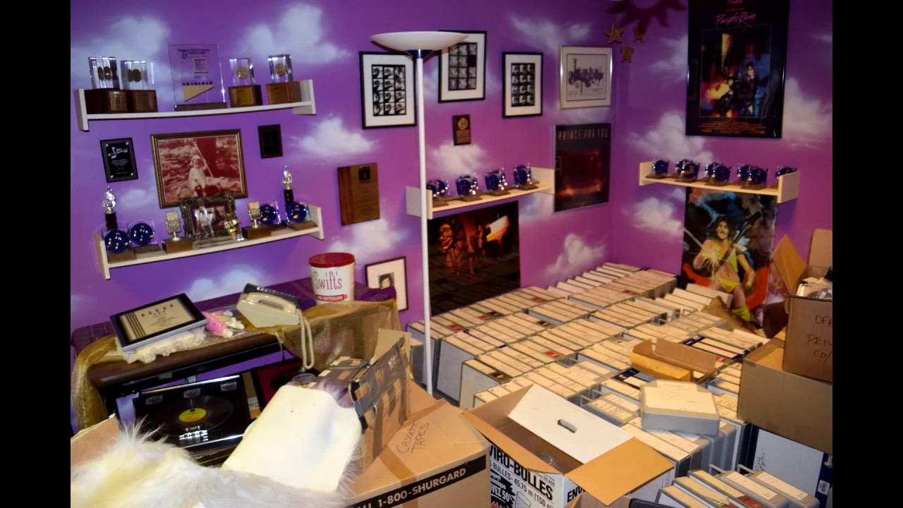 Prince S Paisley Park The Vault And The Studio Store Aka The