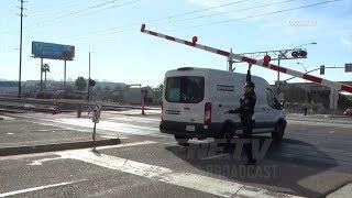 Malfunctioning Railroad Crossings Trap Motorists In San Diego
