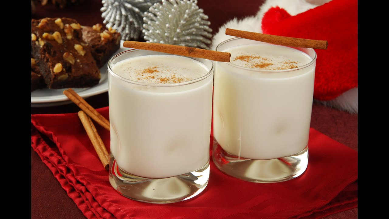 How To Make Creamy 1 Minute Eggnog - Kids/Adults Version - YouTube