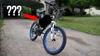 Walmart bmx bike 66cc Engine SWAP 😂 (Pt. 1)