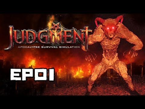 SURVIVING HELL ON EARTH! | Judgment Apocalypse Survival Simulation Gameplay | EP01