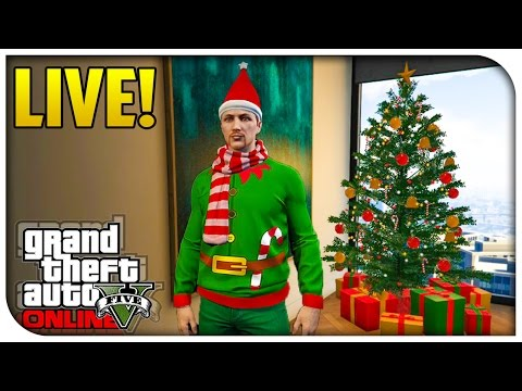 GTA 5 Online CHRISTMAS DLC SHOWCASE! - New Cars/Guns, Free Clothes & More [GTA V PS4]