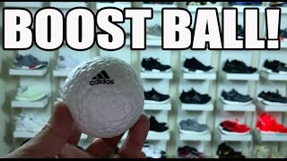 I GOT A BOOST BALL!! + MY ADIDAS BOOST COLLECTION WALL