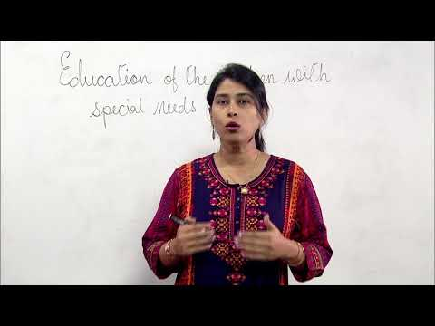 Education of the Children with Special Needs (CWSN)