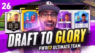 HIGHEST RATED DRAFT! DRAFT TO GLORY FIFA 17 ULTIMATE TEAM #26