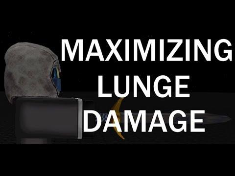 Maximizing Lunge Damage - ROBLOX Sword Fighting Tutorial