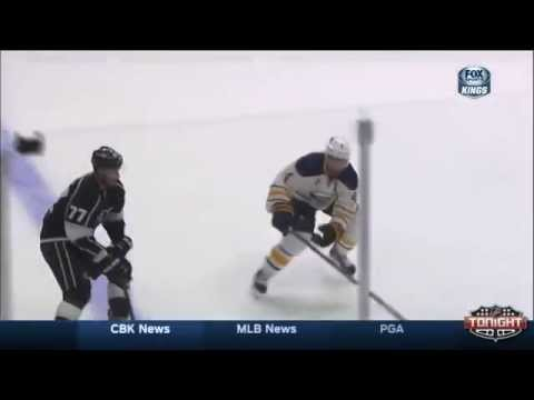 Anze Kopitar goal. Buffalo Sabres vs Los Angeles Kings 11/23/2014