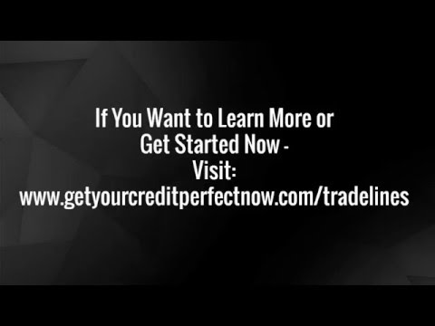 How To Get High Limit Credit Cards Using Tradelines
