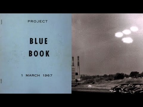 The Unexplained UFO Cover Up Cases and The End of Project Blue Book (1969) - FindingUFO