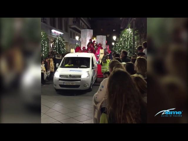 Cabalgata Reyes Magos Sime 2017 Granada