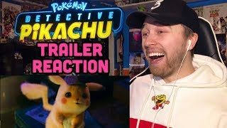 POKÉMON Detective Pikachu Official Trailer Reaction and Review