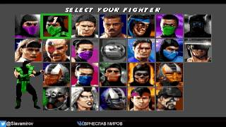 Прохождение Ultimate Mortal Kombat 3 (SEGA) Livestream